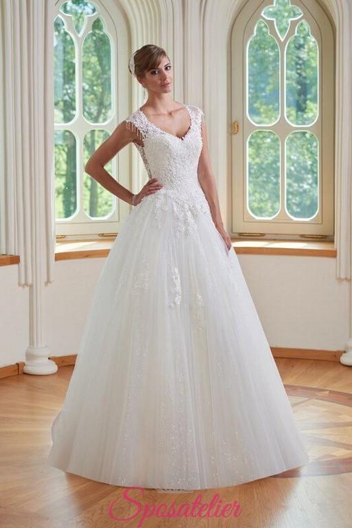 aabe3545f5744 abiti da sposa all ingrosso risparmio garantito tessuti di qualità vendita  online