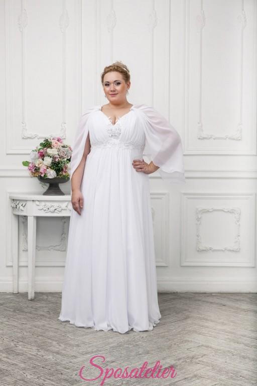 b702bcde8221 abiti da sposa per donne curvy economici online 2017Sposatelier
