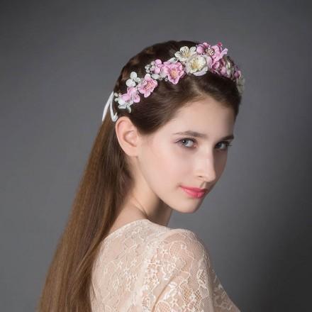 Coroncina di fiori  online per damigella sposa