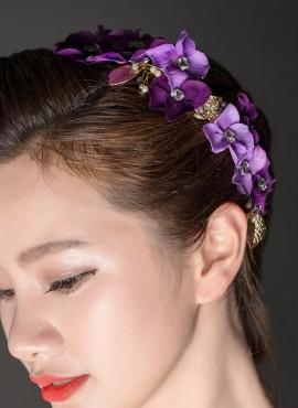 Fiori per acconciature Sposa  e damigella lilla online sito internet
