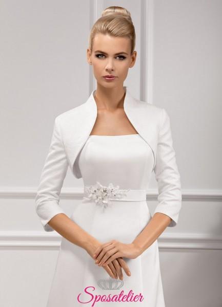 giacchino sposa a maniche lunghe economico online