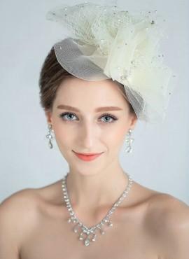 Veletta Sposa Cappello Sposa Elegante con tulle e punti luce sito internet