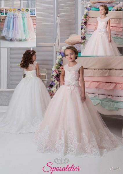 DEISY – vestito prima comunione bambina online collezione