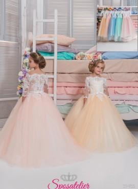 Catania -vestito prima comunione bambina
