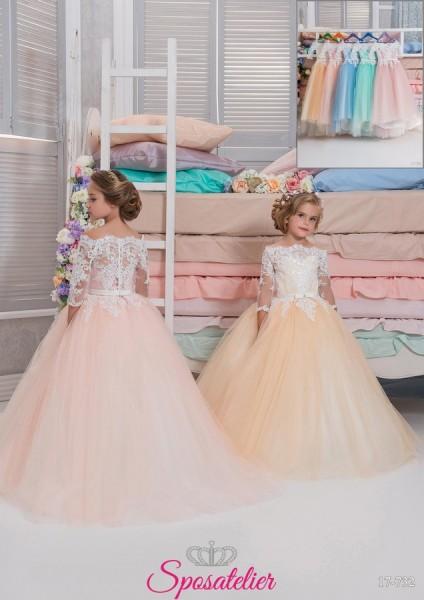 Catania -vestito prima comunione bambina collezione 2018