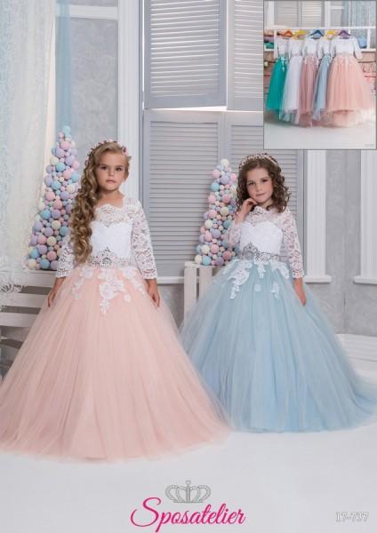 Caserta- abiti prima comunione bambina collezione