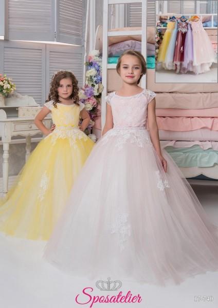 Sassari-vestito prima comunione bambina collezione