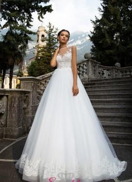 DANA – abiti da sposa con corpetto ricamato in pizzo gonna ampia