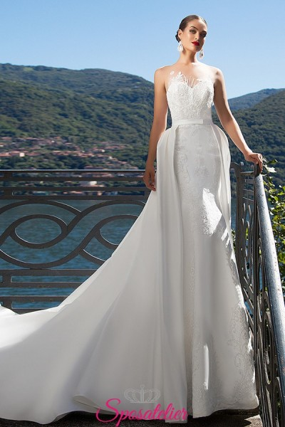 Alma -vestiti da sposa dual dress economici online