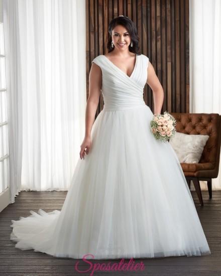 FAVOLA -abiti da sposa per ragazze giovani taglie forti economici online