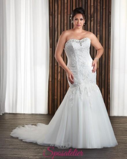 ROSANNA – abiti da sposa per ragazze giovani taglie comode