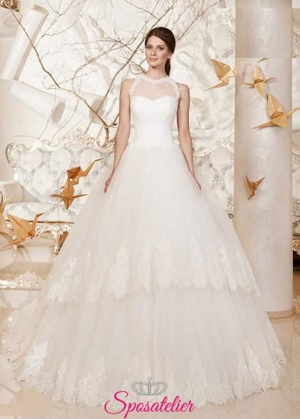 ANNYKA – abito da sposa in saldo economico vendita online