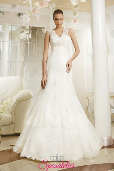 TABAYA – Vestito da Sposa economico online gonna a tromba