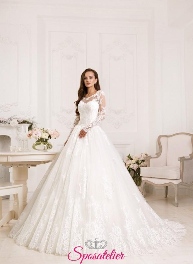 Abiti da sposa eleganti 2018