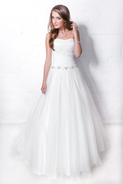 abito da sposa dolce e delicato