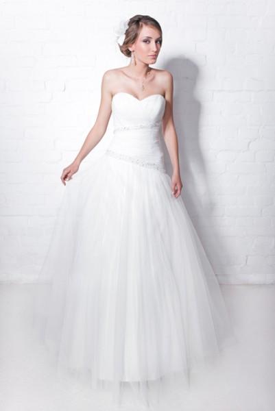 abito sposa semplice e leggero