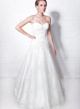 abito da sposa disegno in pizzo
