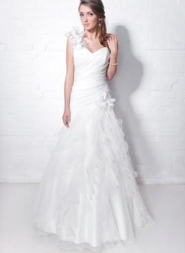 abito da sposa con balze sconti online