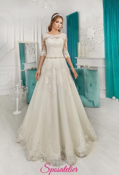 abiti da sposa 2018 per matrimonio a settembre