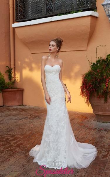 abito da sposa tendenza 2018 sirena di pizzo online