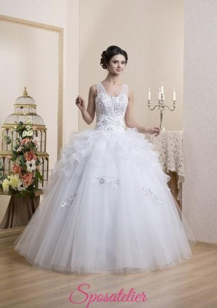 vestiti da sposa pomposi elegante e romantico nuova collezione