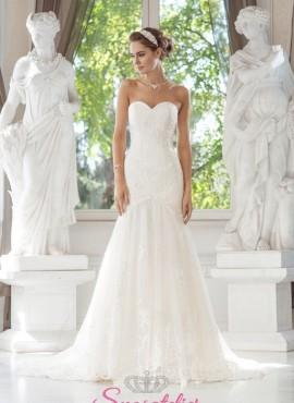 abito da sposa semplice ed elegante a sirena online economici