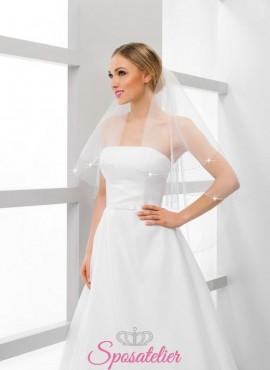 velo sposa con swarovski online economico