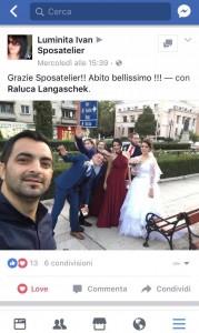 recensioni facebook abiti da sposa
