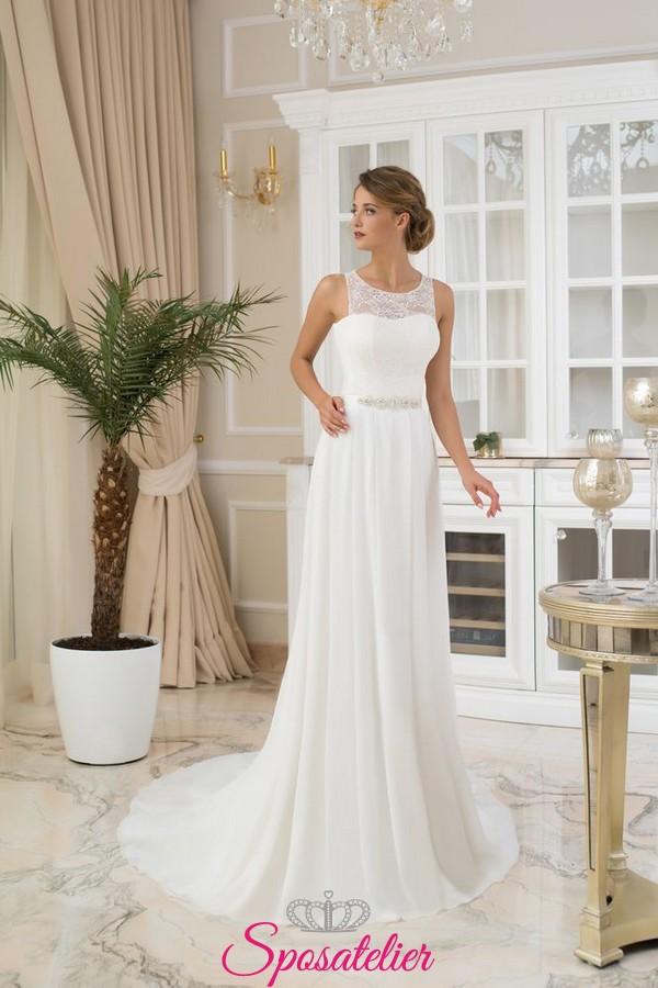 Abiti da sposa stile scivolato – Vestiti da cerimonia 2456dabd6e57