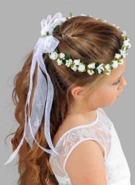 accessori per capelli coroncina di fiori per prima comunione bimba vendita online