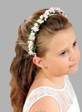 cerchietto di fiori per bambina per la prima comunione accessori per capelli