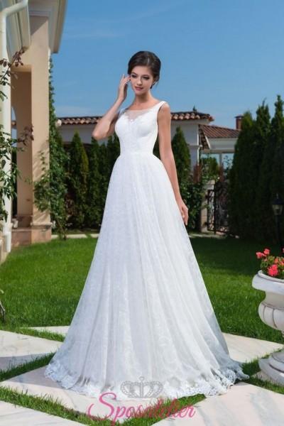 abiti da sposa con schiena scollata vendita online collezione 2018