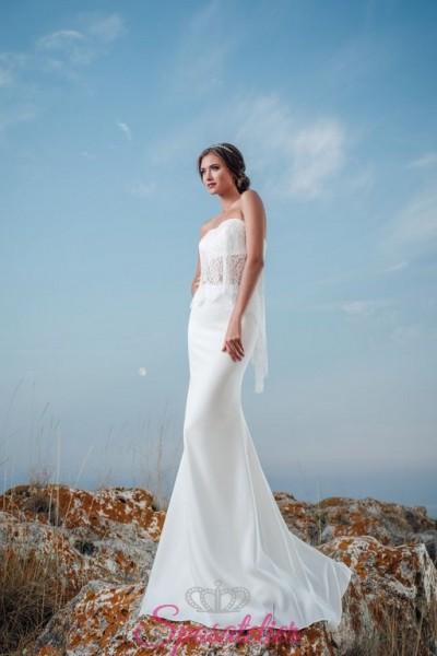 abiti da sposa a sirena due pezzi top e gonna vendita online