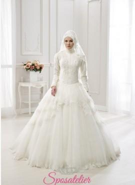 abiti da sposa con il burqa stile arabo on line economici