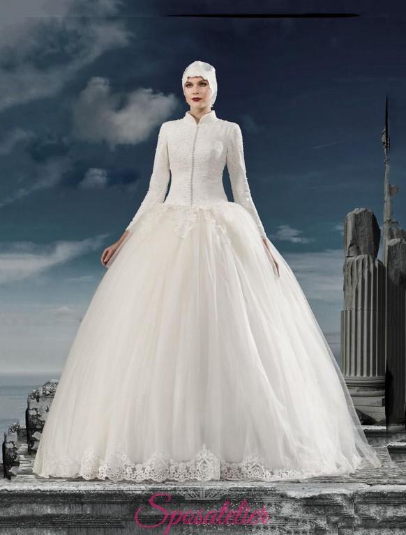 0237b8541550 Abiti da sposa per donne musulmane – Modelli alla moda di abiti 2018