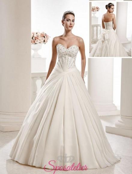 abiti da sposa ampio elegante e particolare vendita online collezione 2018
