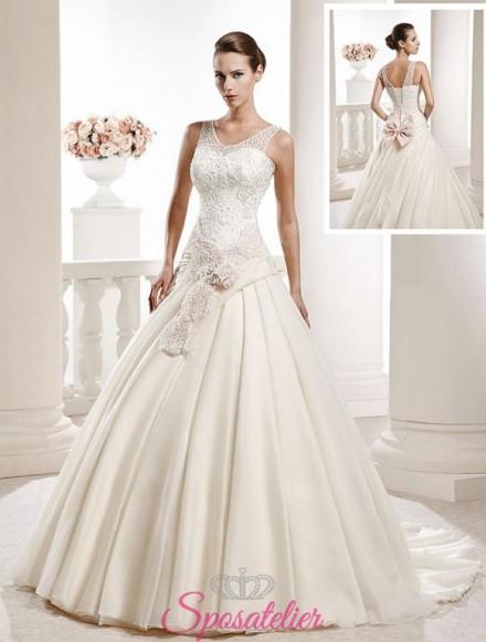 abiti da sposa tradizionale classico prezzo vantaggioso vendita online
