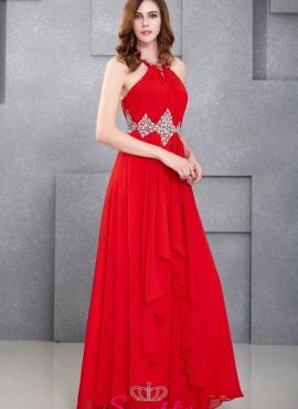 vestiti damigelle rosso o altri colori economici online 2017 2018