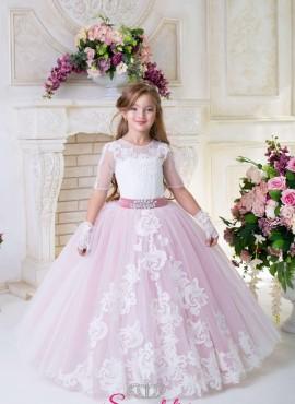 ROSITA – Abito cerimonia da principessa prima comunione bambina