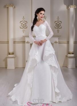 abiti da sposa 2 in 1 con gonna staccabile vendita online economici
