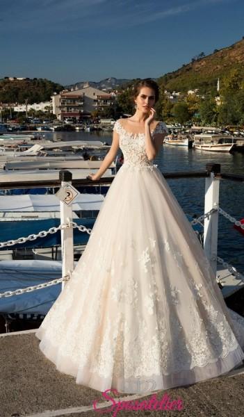 vestiti da sposa 2018 per matrimonio chic on line  a prezzi economici