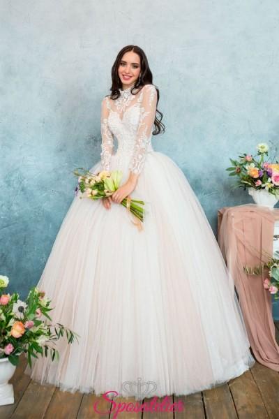 abito da sposa con gonna a palloncino on line economici