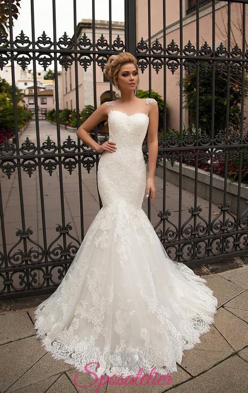 4cb3d3d9dcfd abiti da sposa a sirena bellissimi collezione 2018 ...