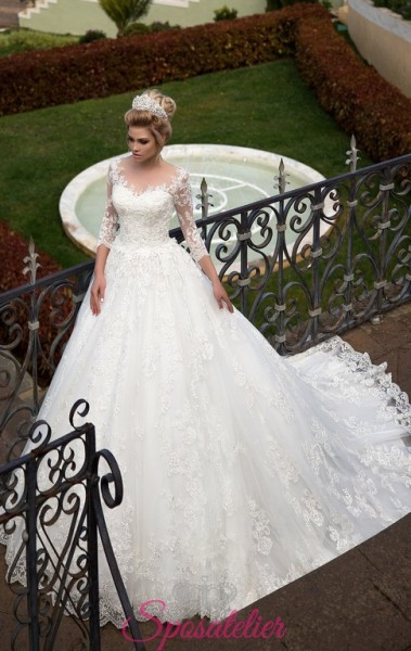 abiti da sposa in stile 800 modello principessa sissi on line