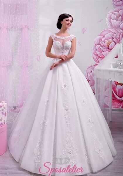 abito per sposa 2018 modello principessa on line a prezzi economici