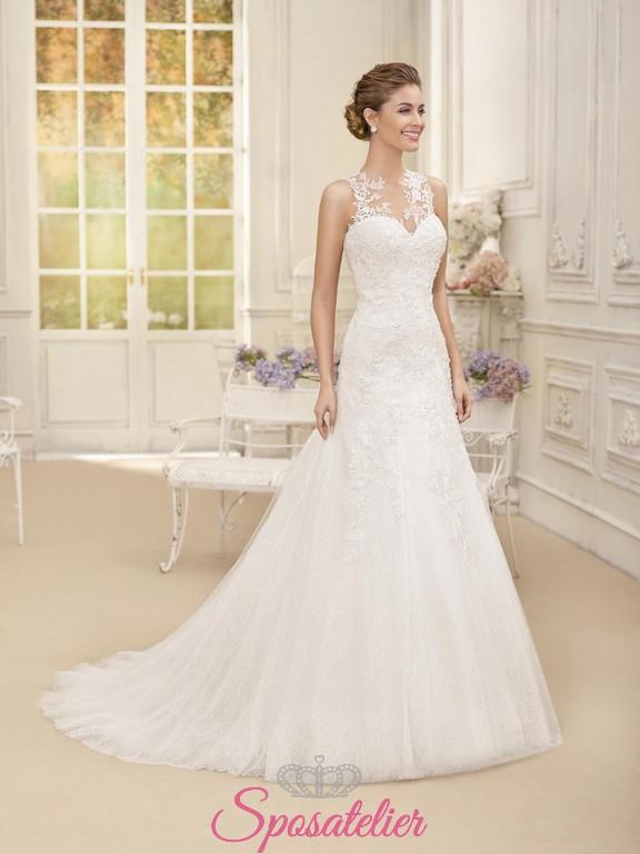 Vestiti Da Sposa 2018 Immagini.Abiti Da Sposa 2018 Tendenze Nuova Collezione Onlinesposatelier