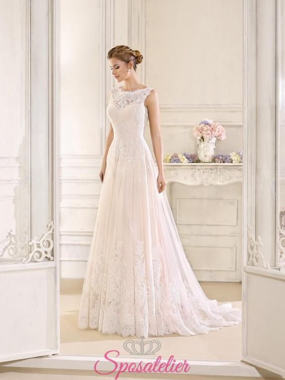 7bccb2e472d8 Bologna-abiti da sposa nuovi dallo stile vintage online 2018Sposatelier