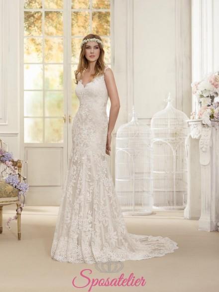 abiti da sposa in stile vintage collezione 2018  online prezzi economici