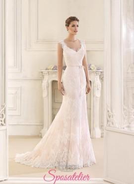 abiti da sposa nuovi in pizzo in stile vintage online 2018 prezzi economici