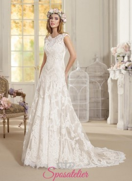 abiti da sposa nuovi dallo stile retrò romantico e vintage online 2018